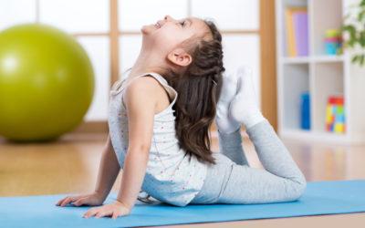 Talleres de yoga para niños en Logroño y Nájera